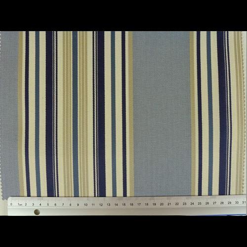dekostoff mit maritimen streifen marinblau stoffe online. Black Bedroom Furniture Sets. Home Design Ideas