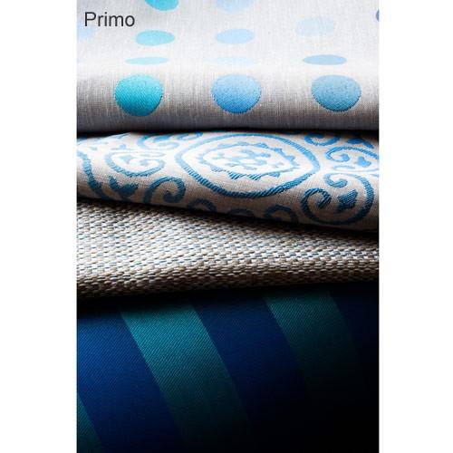 schwer entflammbarer stoff edles design punkte in royalblau. Black Bedroom Furniture Sets. Home Design Ideas
