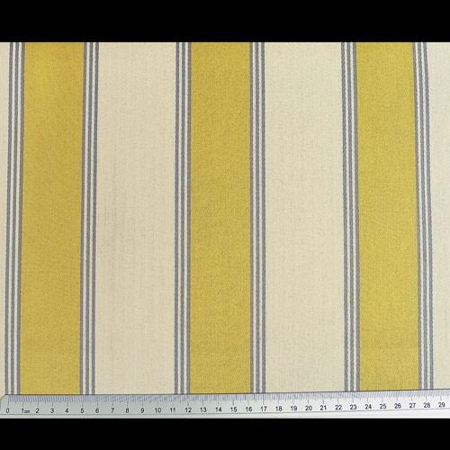 dekostoff mit gelben streifen maritim stoffe online. Black Bedroom Furniture Sets. Home Design Ideas