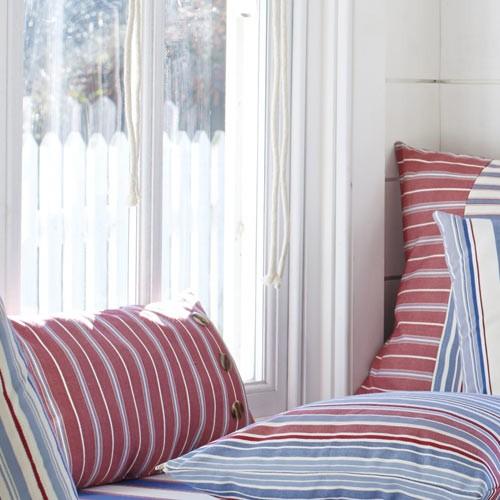 dekostoff mit hippen streifen maritim stoffe online. Black Bedroom Furniture Sets. Home Design Ideas