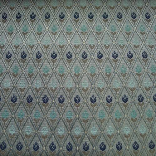 italienischer polsterstoff m belstoff kleine blumen blau. Black Bedroom Furniture Sets. Home Design Ideas