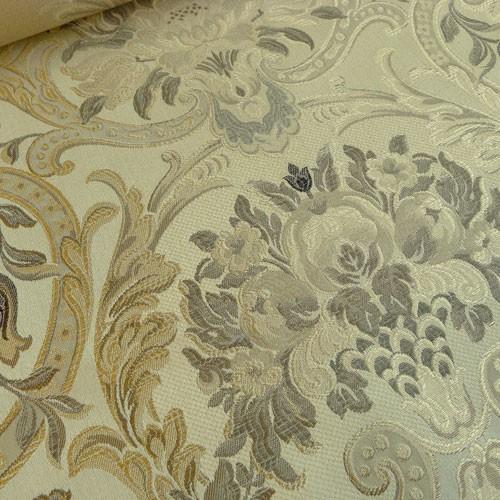 italienischer polsterstoff m belstoff ornamente creme. Black Bedroom Furniture Sets. Home Design Ideas