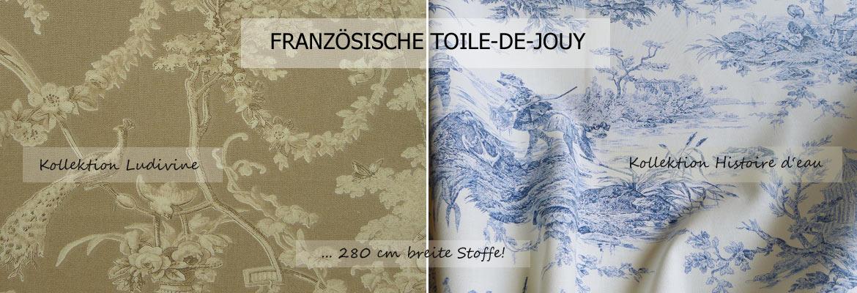 Hochwertige Französische Toile De Jouy Polsterstoffe Dekostoffe